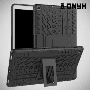 ONYX Противоударный бронированный чехол для Samsung Galaxy Tab A 10.1 (2019) T510 - Черный