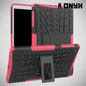 ONYX Противоударный бронированный чехол для Samsung Galaxy Tab A 10.1 (2019) T510 - Розовый