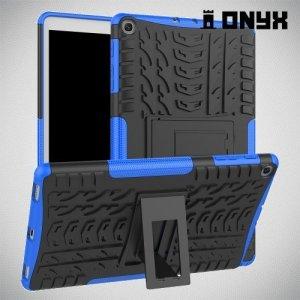 ONYX Противоударный бронированный чехол для Samsung Galaxy Tab A 10.1 (2019) T510 - Синий