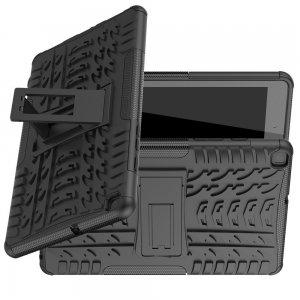 ONYX Противоударный бронированный чехол для Samsung Galaxy Tab A 8.0 (2019) P200 P205 - Черный