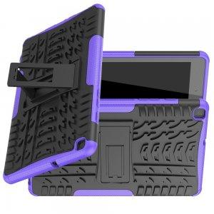 ONYX Противоударный бронированный чехол для Samsung Galaxy Tab A 8.0 (2019) P200 P205 - Фиолетовый