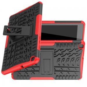ONYX Противоударный бронированный чехол для Samsung Galaxy Tab A 8.0 (2019) P200 P205 - Красный