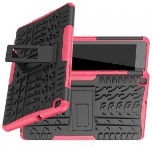 ONYX Противоударный бронированный чехол для Samsung Galaxy Tab A 8.0 (2019) P200 P205 - Светло-Розовый