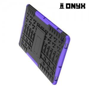 ONYX Противоударный бронированный чехол для Samsung Galaxy Tab S5e SM-T720 - Фиолетовый