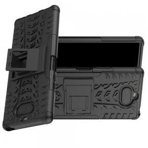 ONYX Противоударный бронированный чехол для Sony Xperia 20 - Черный