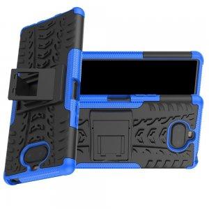 ONYX Противоударный бронированный чехол для Sony Xperia 20 - Синий