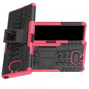 ONYX Противоударный бронированный чехол для Sony Xperia 20 - Светло-Розовый