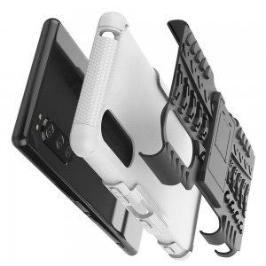 ONYX Противоударный бронированный чехол для Sony Xperia 5 - Белый