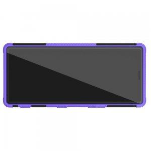 ONYX Противоударный бронированный чехол для Sony Xperia 5 - Фиолетовый