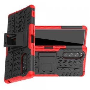 ONYX Противоударный бронированный чехол для Sony Xperia 5 - Красный