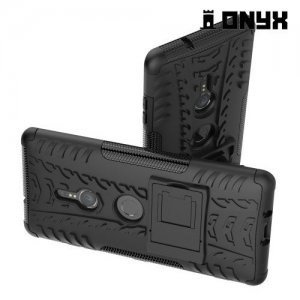 ONYX Противоударный бронированный чехол для Sony Xperia XZ3 - Черный