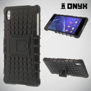 ONYX Противоударный бронированный чехол для Sony Xperia Z2 - Черный