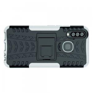 ONYX Противоударный бронированный чехол для Vivo Y17 / Y15 / Y12 - Белый