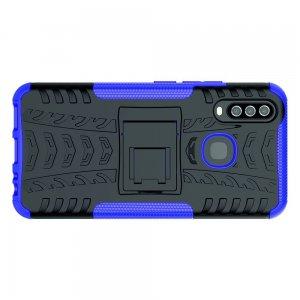ONYX Противоударный бронированный чехол для Vivo Y17 / Y15 / Y12 - Фиолетовый