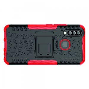 ONYX Противоударный бронированный чехол для Vivo Y17 / Y15 / Y12 - Красный