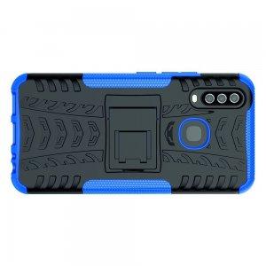ONYX Противоударный бронированный чехол для Vivo Y17 / Y15 / Y12 - Синий
