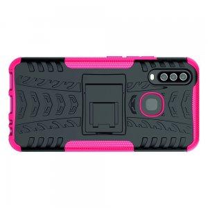 ONYX Противоударный бронированный чехол для Vivo Y17 / Y15 / Y12 - Светло-Розовый