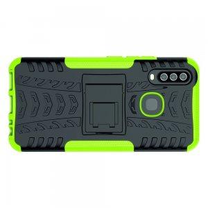 ONYX Противоударный бронированный чехол для Vivo Y17 / Y15 / Y12 - Зеленый