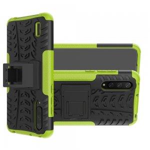 ONYX Противоударный бронированный чехол для Xiaomi Mi 9 lite - Зеленый / Черный