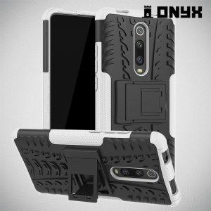 ONYX Противоударный бронированный чехол для Xiaomi Mi 9T - Белый