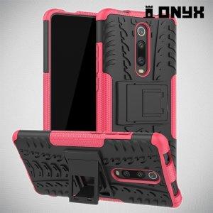 ONYX Противоударный бронированный чехол для Xiaomi Mi 9T - Розовый