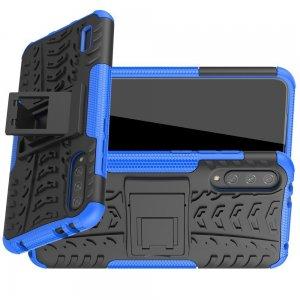 ONYX Противоударный бронированный чехол для Xiaomi Mi A3 - Синий / Черный