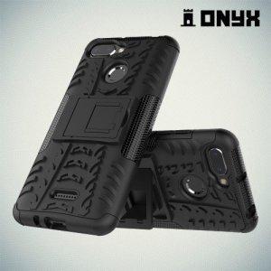 ONYX Противоударный бронированный чехол для Xiaomi Redmi 6 - Черный