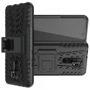ONYX Противоударный бронированный чехол для Xiaomi Redmi 9 - Черный