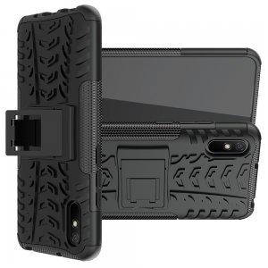 ONYX Противоударный бронированный чехол для Xiaomi Redmi 9A - Черный