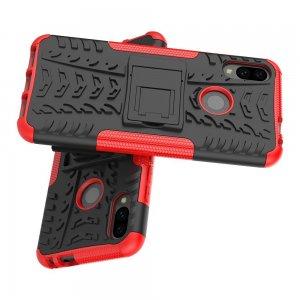 ONYX Противоударный бронированный чехол для Xiaomi Redmi Note 7 / 7 Pro - Красный