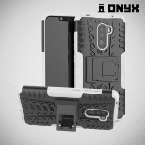 ONYX Противоударный бронированный чехол для Xiaomi Redmi Note 8 Pro - Белый