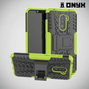 ONYX Противоударный бронированный чехол для Xiaomi Redmi Note 8 Pro - Зеленый