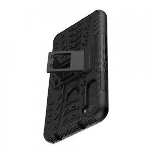 ONYX Противоударный бронированный чехол для Xiaomi Redmi Note 8T - Черный