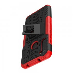 ONYX Противоударный бронированный чехол для Xiaomi Redmi Note 8T - Красный