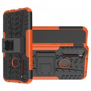 ONYX Противоударный бронированный чехол для Xiaomi Redmi Note 8T - Оранжевый