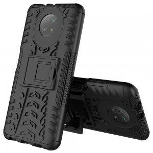 ONYX Противоударный бронированный чехол для Xiaomi Redmi Note 9T - Черный