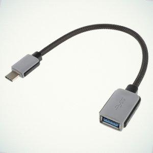 OTG конвертер переходник Type-C в USB для смартфонов