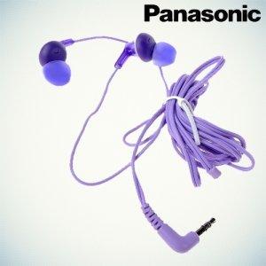 Наушники Panasonic RP-HJE125E - Фиолетовые