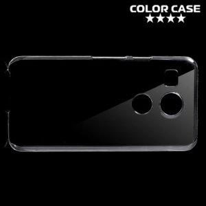 Пластиковый прозрачный чехол для LG Nexus 5X