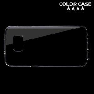 Пластиковый прозрачный чехол для Samsung Galaxy S7 Edge