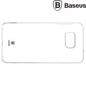 Пластиковый прозрачный чехол BASEUS для Samsung Galaxy S6 edge Plus G928