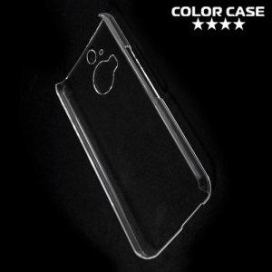 Пластиковый прозрачный чехол для HTC One М9 Plus
