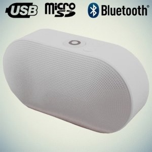 Портативная беспроводная Bluetooth колонка Wireless Speaker белая J15