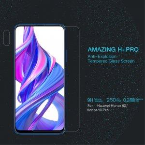 Противоударное закаленное олеофобное защитное стекло на Huawei Honor 9X / 9X Premium Nillkin Amazing H+ Pro