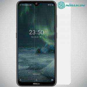 Противоударное закаленное олеофобное защитное стекло на Nokia 6.2 / 7.2 Nillkin Amazing H