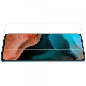 Противоударное закаленное олеофобное защитное стекло на Xiaomi Poco F2 Pro Nillkin Amazing H