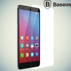 Противоударное закаленное стекло BASEUS на Huawei Honor 5X 0.3мм Противоударное 9H