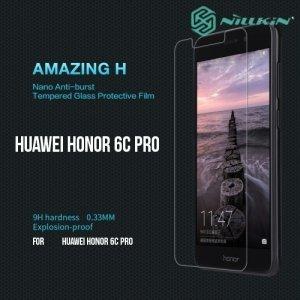 Противоударное закаленное стекло на Huawei Honor 6C Pro Nillkin Amazing 9H