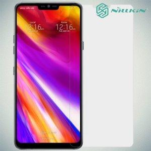 Противоударное закаленное стекло на LG G7 ThinQ Nillkin Amazing 9H