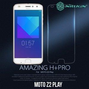 Противоударное закаленное стекло на Motorola Moto Z2 Play Nillkin Amazing H+PRO